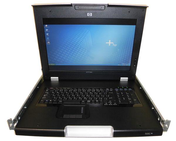 HP TFT7600ラックマウント型キーボード/モニター(AG064A)【中古】