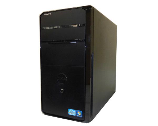 第2世代 Core i5搭載 クアッドコア ミニタワー型Windows7 中古パソコン(デスクトップPC)DELL(デル) Vostro 460Core i5 2500 3.3GHz/4GB/500GB/DVDマルチ