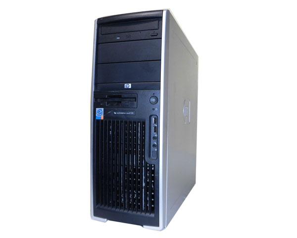 OSなし HP WorkStation XW4100 (DD820AV)Pentium4-2.8Ghz/512MB/80GB/CD-ROM中古ワークステーション