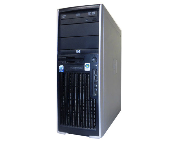 HP WorkStation XW4600 RV724AV【中古】Core2Duo E8600 3.33GHz/2GB/146GB/FX1700【WindowsXP】【送料無料】【中古ワークステーション】