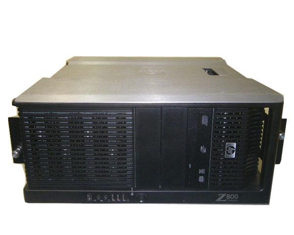 HP WorkStation Z800 FF825AV ラック型Windows7-64bit 中古ワークステーション Xeon E5507 2.26GHz×2/32GB/1TB×2/FX1800