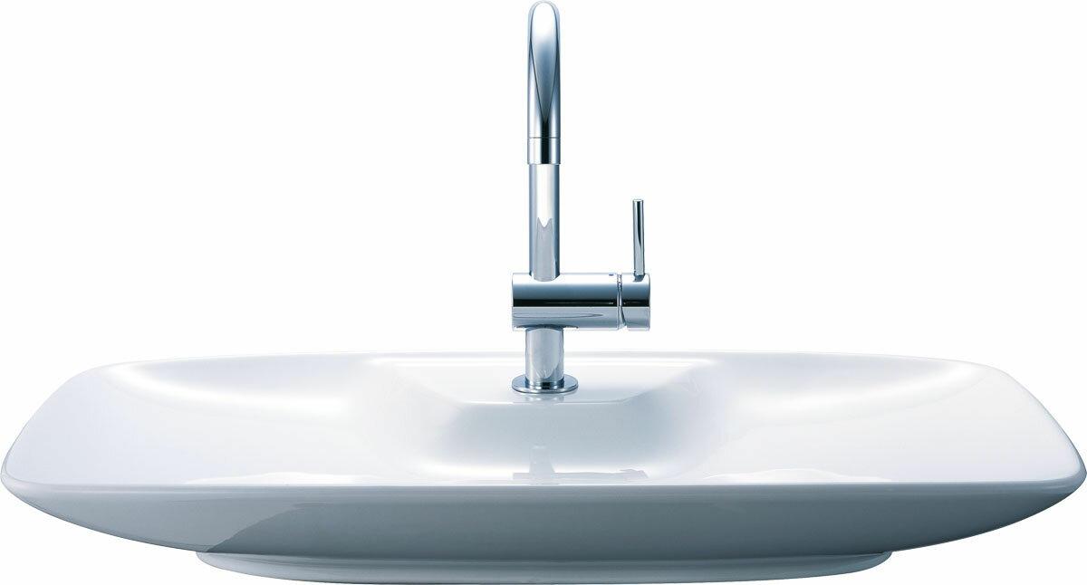 LIXIL  INAX ワイド手洗器(ベッセル式) 手洗セット 壁給水・壁排水仕様 YL-AR57SG(C)V/BW1