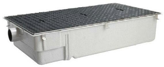 前澤化成工業 FRP製グリーストラップ パイプ流入超浅型(容量40L) GT-40PLX