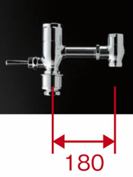 TOTO 節水形フラッシュバルブ本体標準品 ハンドル式 TV550CR