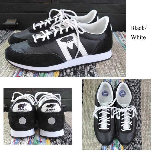 カルフ 2017年新作 アルバトロス ブラック ホワイト ユニセックス  KARHU  Albatoross Black/White   北欧フィンランドの老舗ブランド  メンズ  レディース  靴 クッションシューズ スニーカー シロクマ  北欧