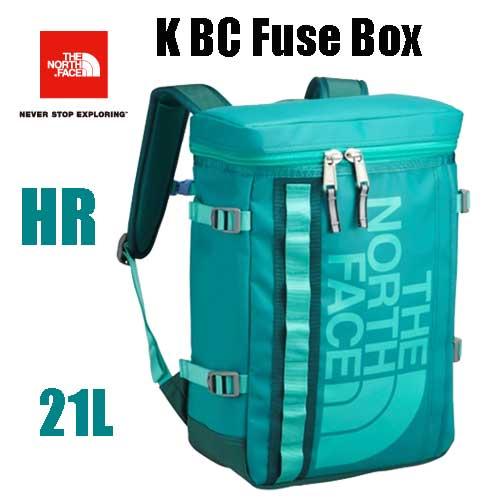 ザ ノースフェイス 送料無料 無償修理対象正規品 BCヒューズボックス(キッズ)  キッズ 小学生 中学生 高校生 大学生 ボックス型のデイパック  The North Face K BC Fuse Box 21L   NMJ81630 (HR)ハーバーブルー