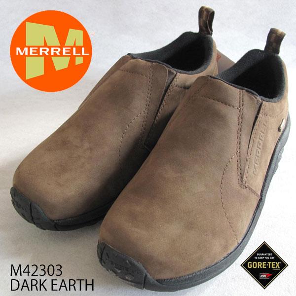 メレル  メンズ ジャングルモック ゴアテックス  M42303 DARK EARTH  メンズ アウトドア スニーカー Merrell Jungle Moc GORE-TEX  Mens