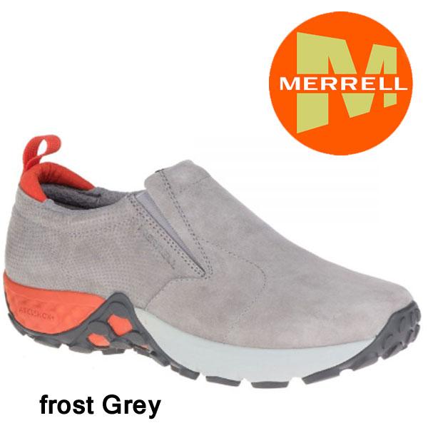 メレル  メンズ ジャングルモック エアークッションプラス  M91707 Frost Grey  メンズ アウトドア スニーカーMerrell Jungle Moc AC+