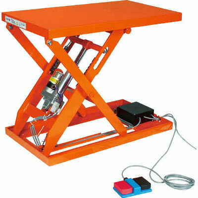 トラスコ テーブルリフト100kg(電動ボールねじ式100V)幅400×長さ720mm【代引不可・メーカー直送品】 HDL-L1047V-12