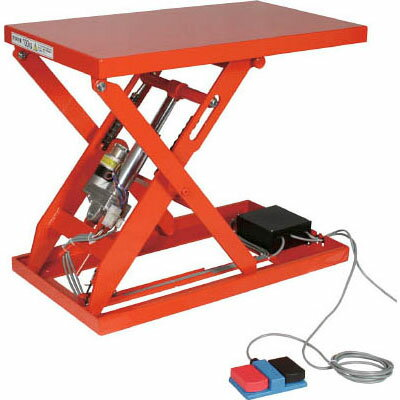 トラスコ テーブルリフト150kg(電動ボールねじ式200V)幅400×長さ500mm【代引不可・メーカー直送品】 HDL-L1545V-22