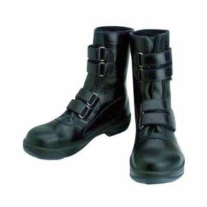シモン 安全靴 長編上靴マジック式 8538N 黒 25.0cm 8538N25.0