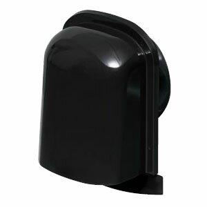 未来工業 パイプフード(薄型)防火ダンパー付 サイズ150 ブラック(6個価格) PYT-S150ADK