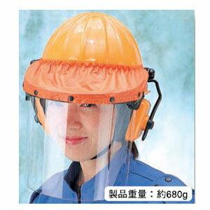 TOYOアンボプロテクター No.3162F・オレンジ(頭・顔・耳3点セット) (3162F