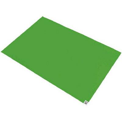 トラスコ 粘着クリーンマット 600×450mm グリーン 20シート入※取寄せ品 CM6045-20GN