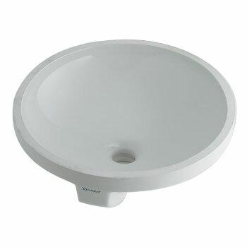 カクダイ アンダーカウンター式洗面器 径390ミリ #DU-0468400000