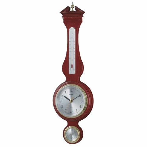 エンペックス ウエストミンスター温度・湿度・時計 TQ-708