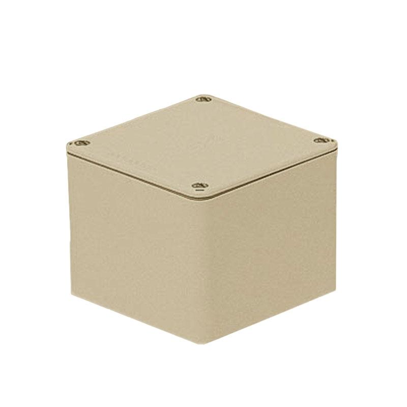 未来工業 正方形防水プールボックス(平蓋・ノック無)500×500×200mm ベージュ(1個価格) ※受注生産品 PVP-5020AJ