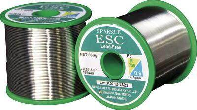 【千住金属】千住金属 エコソルダー ESC F3 M705 1.2ミリ ESCM705F31.2[千住金属 半田生産加工用品はんだ用品はんだ]【TN】【TC】 P01Jul16