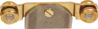 【HELM】HELM ニコ 27号ドアハンガー用 ベアリング複車 溶接 27HE4WHBAY[HELM ドアハンガー用品生産加工用品建築金物ドアハンガー]【TN】【TC】 P01Jul16