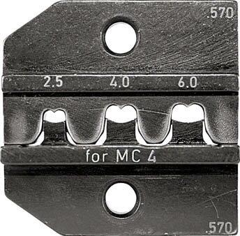【RENNSTEIG】RENNSTEIG 圧着ダイス 624-570 MC4 2.5-6.0 62457030[RENNSTEIG ハンドツール作業用品電設工具圧着工具]【TN】【TC】 P01Jul16