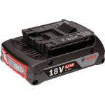 【ボッシュ】ボッシュ バッテリー スライド式 18V2.0Ahリチウムイオン A1820LIB[ボッシュ 電動工具作業用品電動工具・油圧工具インパクトレンチ]【TN】【TC】 P01Jul16