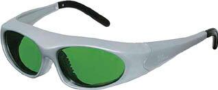 【リケン】リケン レーザー保護メガネYAGレーザー RSX2YG【保護具/防じんメガネ/保護眼鏡】【TC】【TN】