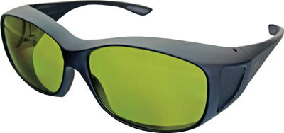 【リケン】リケン レーザー保護メガネYAGレーザー RSX2YGEP【保護具/防じんメガネ/保護眼鏡】【TC】【TN】