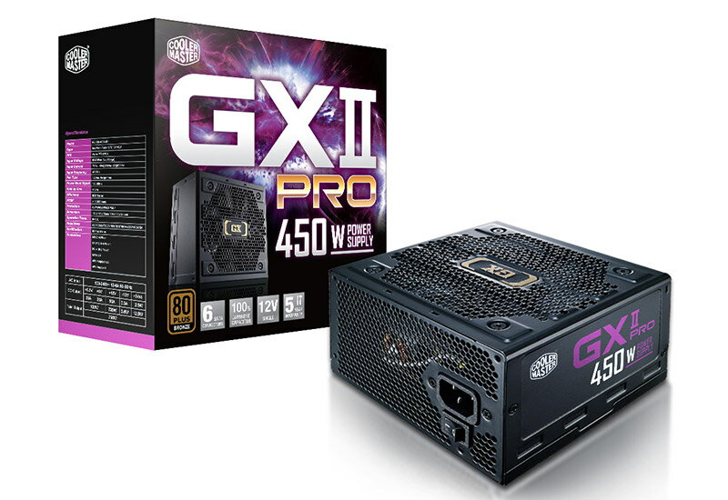 Cooler Master GXII PRO 450W 正規代理店保証付