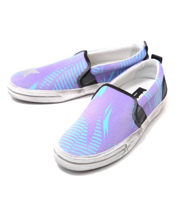 【SALE/セール】GOLDEN GOOSE [ゴールデングース] / SNEAKER SEASTAR-PURPLE/AZURE LEAF-(ゴールデングース スニーカー 靴 ヴィンテージ)G26U637-B2【RIP】