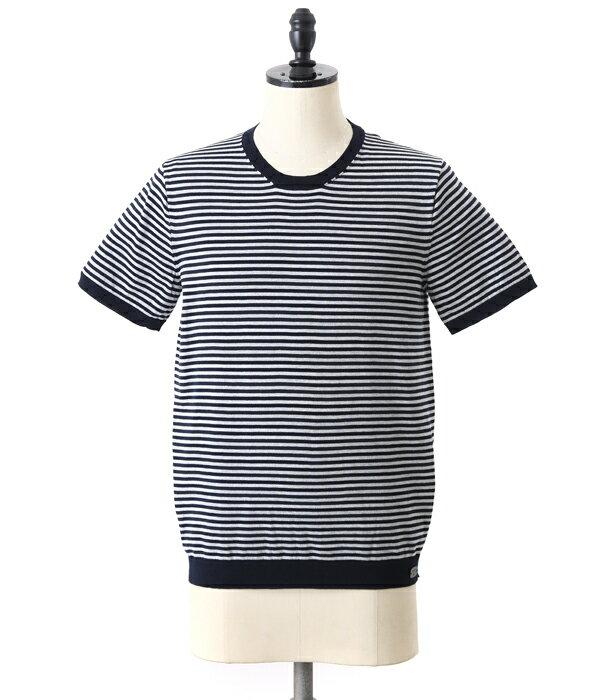 驚き価格 991 [キューキューイチ] / GIZA (Border) T-Shirt(ギザ ボーダー ティーシャツ Tシャツ 半袖 カットソー 無地)YAGH202Y【MUS】
