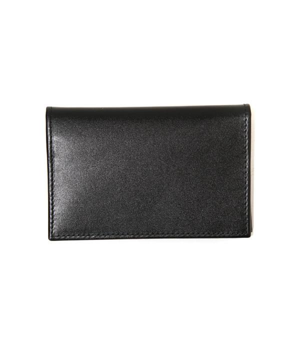 ETTINGER [エッティンガー] / VISITING CARD CASE BLK/PPL (カードケース ケース) ST143【MUS】