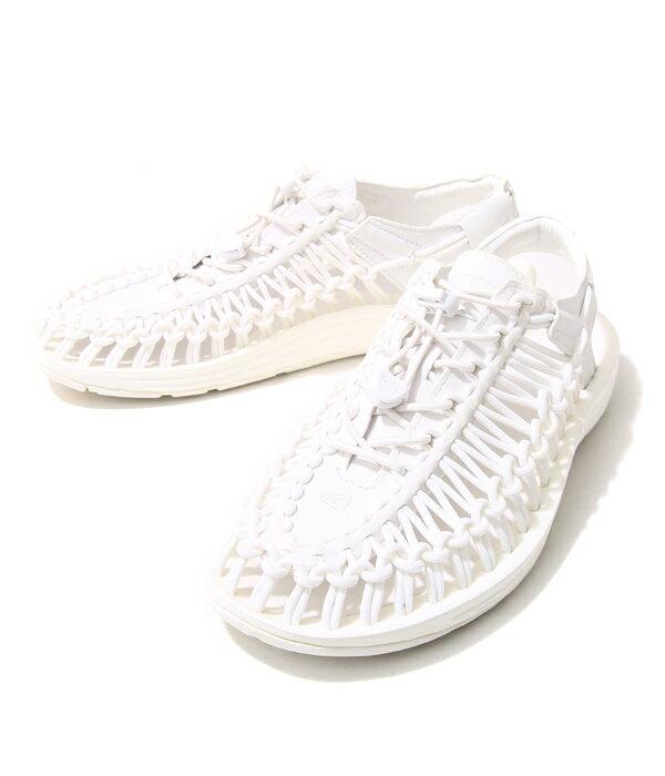 KEEN [キーン] / 【レディース】UNEEK 3C -Star White-(ユニーク スリーシー サンダル シューズ 靴)1014100【STD】