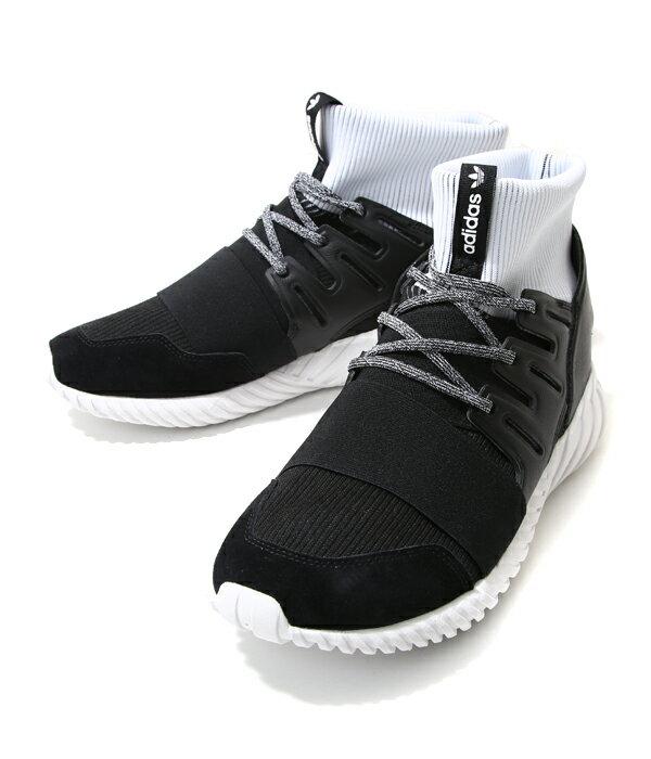 終了間際!【大感謝祭送料無料!】adidas Originals (アディダス オリジナルス) / TUBULAR DOOM -コアブラック/コアブラック/ランニングホワイト-(チューブラー ドーム ドゥーム チュブラドゥーム スニーカー 靴 シューズ)BA7555【WAX】【REA】