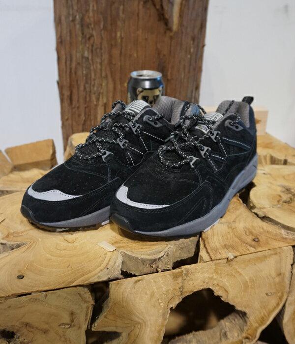 ■【予約商品 11月~12月入荷予定】KARHU [カルフ] / フュージョン2.0 -スウェード/ブラック/ブラック- (カルフ フュージョン2.0 スニーカー シューズ 靴) KH804018【AST】