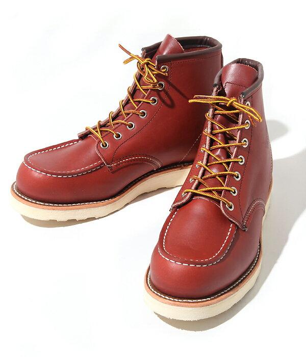 RED WING(レッドウィング) CLASSIC MOC STYLE NO.8875(ブーツ6インチブーツ ワークブーツ)【STD】