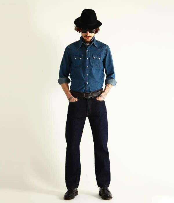 LEVIS VINTAGE CLOTHING(リーバイス ヴィンテージ クロージング) / 1947 501Jeans Rigid(レングス32inch)(デニム ジーンズ パンツ ジーパン)47501-01170-L32【MUS】