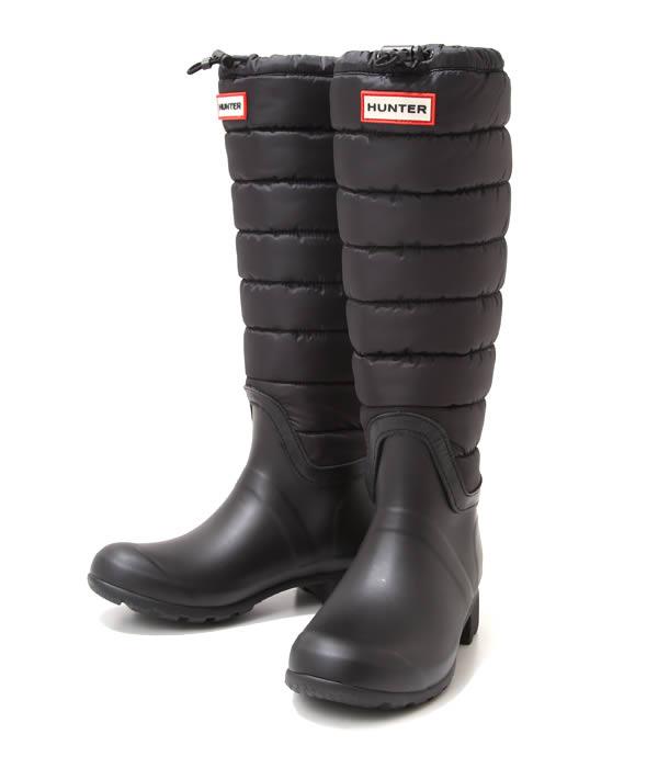HUNTER [ハンター] / 【レディース】ORIGINAL QUILTED LEG (レディース 長靴 ロング レインブーツ ラバーシューズ 靴) HWFT1093RNY【ANN】
