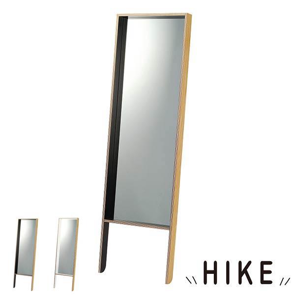 鏡 スタンドミラー 全身 ミラー 姿見 スタンド 全身鏡 北欧 ナチュラル オフィス かわいい インテリア インテリアミラー飾り付け ディスプレイ HIKE リビング 玄関 廊下 全身姿見 一人暮らし カフェ 送料無料
