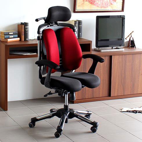 パソコンチェア 疲れにくい オフィスチェア ロッキング ハイバック おすすめ 肘掛け椅子 腰痛対策 チェア 腰痛 椅子 骨盤矯正 キャスター デスクチェア リクライニング 快適 高さ 角度 調節 OAチェア 肘付き 送料無料 HARA Chair ハラチェア Nietzsche II ニーチェ2