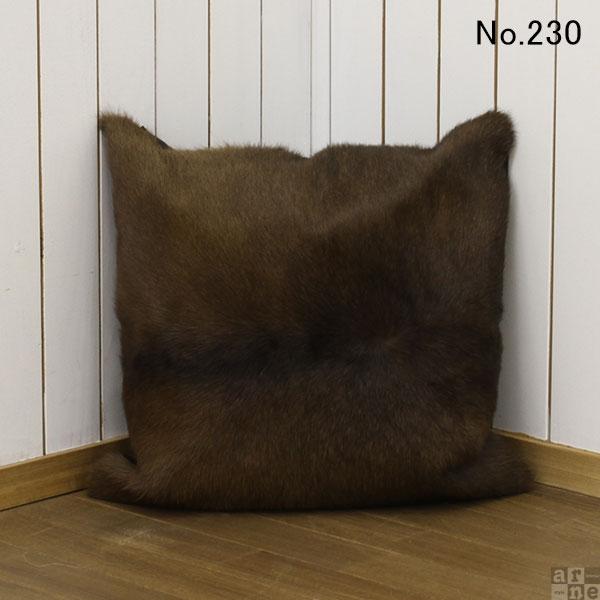 クッション レザー 45×45 牛柄 北欧 本革クッション ソファ 背もたれ 送料無料 arne COW クッション 【No.230】 スクエアクッション クッションカバー アニマル 【あす楽】