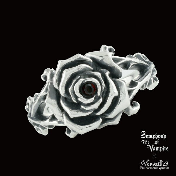 Symphony of The Vampire × Versailles /Rose of Versailles collection /Rose of Versailles RING
