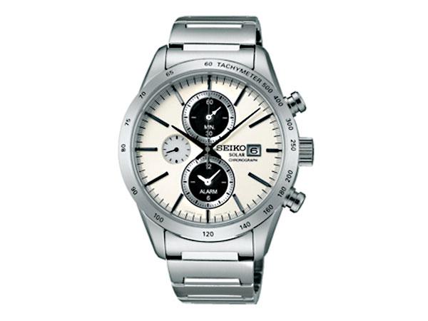 セイコー SEIKO スピリット SPIRIT ソーラー メンズ クロノグラフ 腕時計 SBPY113 国内正規