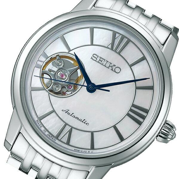 セイコー プレザージュ 自動巻き メンズ 腕時計 SRRY021 ホワイトシェル 国内正規