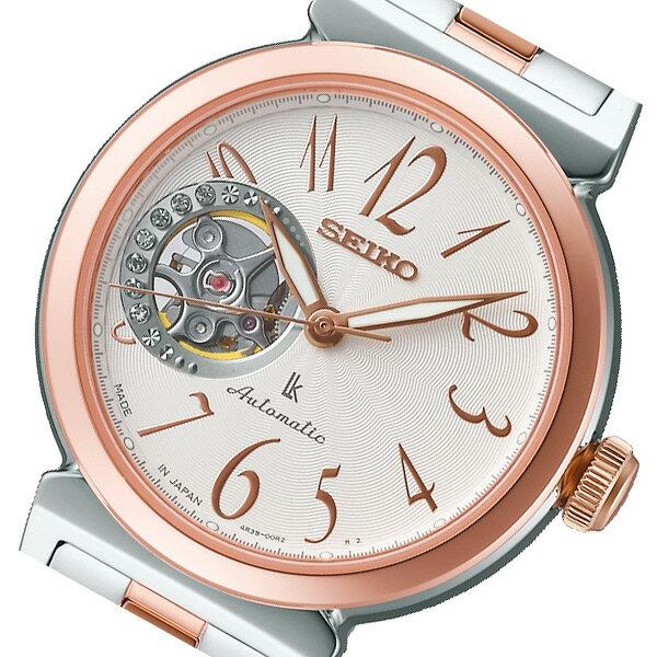 セイコー SEIKO ルキア 自動巻き レディース 腕時計 SSVM004 ホワイト 国内正規