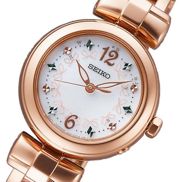セイコー SEIKO ティセ ソーラー レディース 腕時計 SWFH044 ホワイト 国内正規