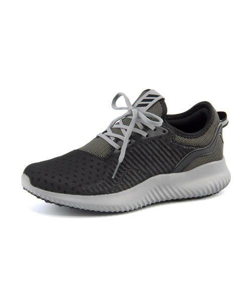adidas(アディダス) ALPHA BOUNCE LUX W(アルファバウンスLUXW) BY4251 コアブラック/ユーティリティブラック/グレーワン