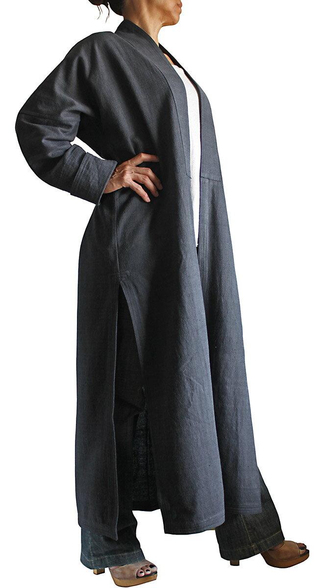 ジョムトン手織り綿ザオスタイルコート(Lサイズ)
