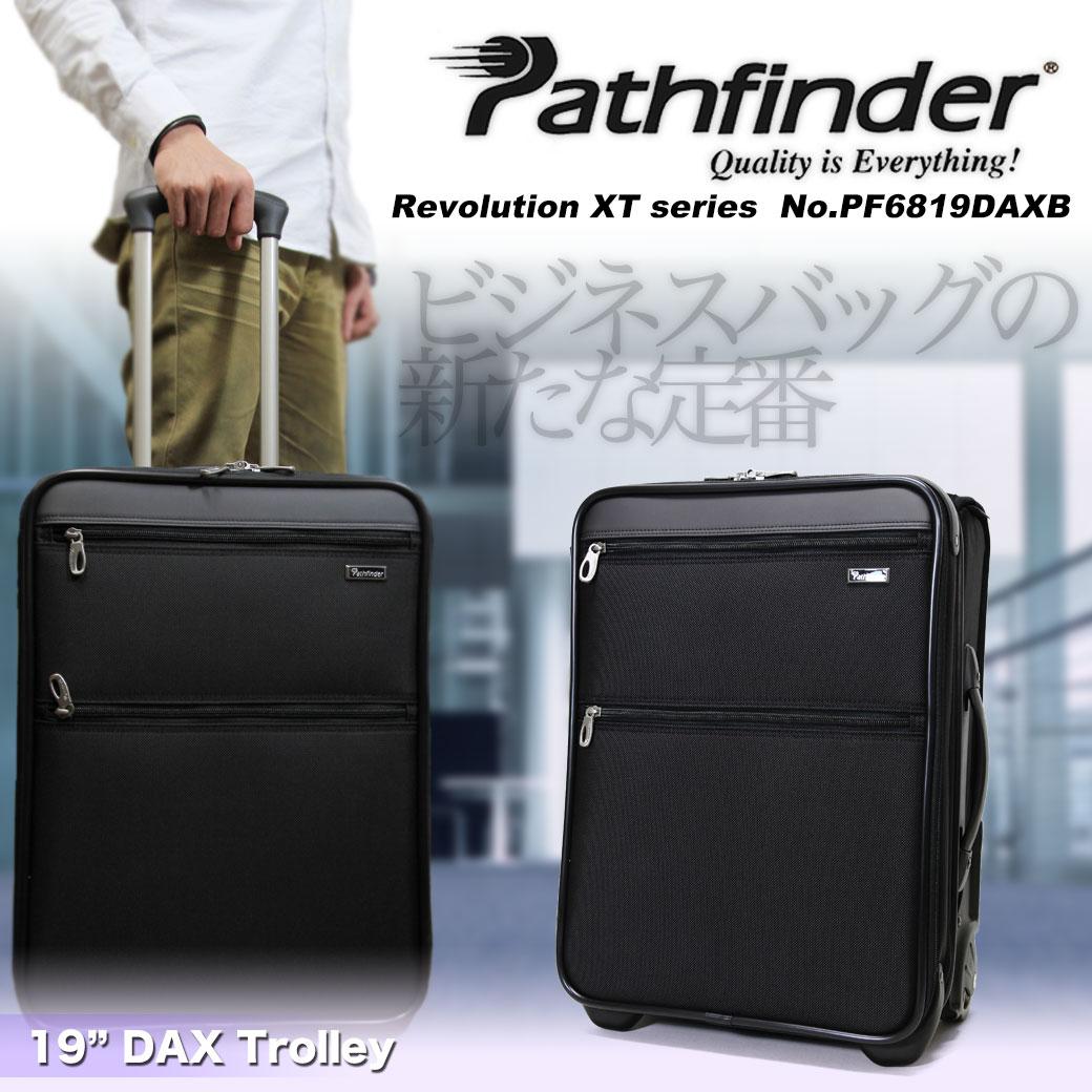 【期間限定!今だけポイント10倍】  スーツケース キャリーケース メンズ Pathfinder パスファインダー Revolution XT レボリューションXT キャリーバッグ 旅行 出張 ナイロン TSAロック 2輪 機内持ち込み メンズバッグ d7gqG12