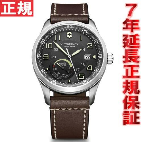 【5000円OFFクーポン!10月10日9時59分まで!】ビクトリノックス VICTORINOX 腕時計 メンズ エアボス AIRBOSS メカニカル パワーゲージ 自動巻き ヴィクトリノックス スイスアーミー 241575