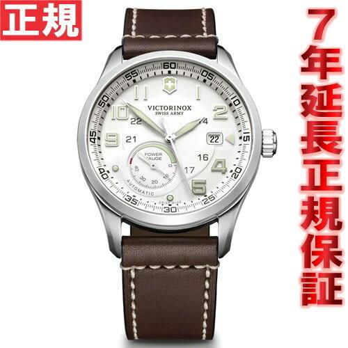 【5000円OFFクーポン!10月10日9時59分まで!】ビクトリノックス VICTORINOX 腕時計 メンズ エアボス AIRBOSS メカニカル パワーゲージ 自動巻き ヴィクトリノックス スイスアーミー 241576